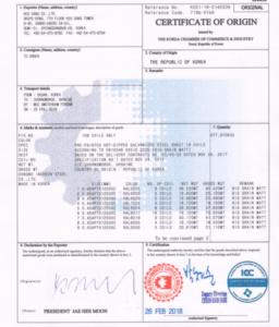 Certificate-Koreya