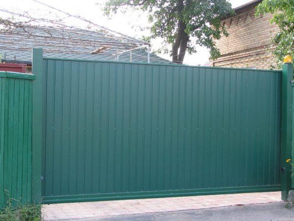 профнастил пс-10 зеленый 6005 купить