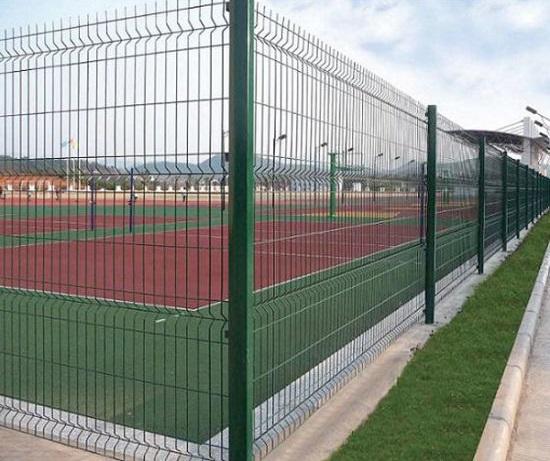 для спортивных площадок сетка