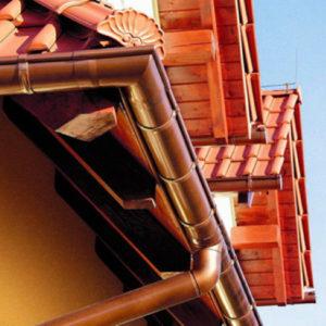 Водостічні системи Roof Art (металеві)