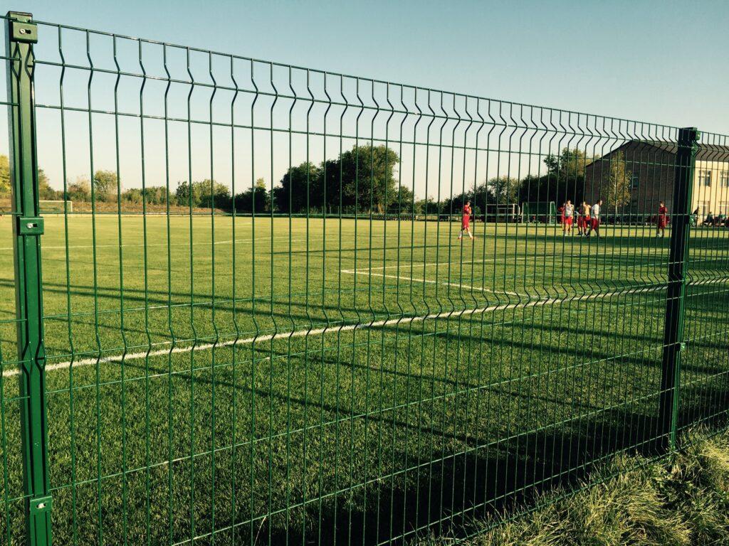 Забор из сварной сетки 3Д
